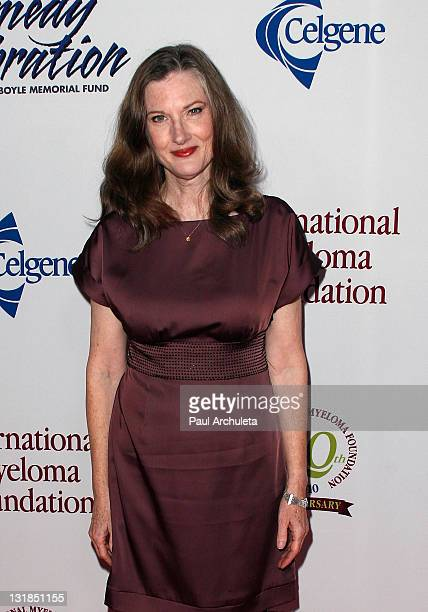 Actress Annette O'Toole arrives at the International Myeloma Foundation's 4th annual comedy celebration and benefit at The Wilshire Ebell Theatre on...