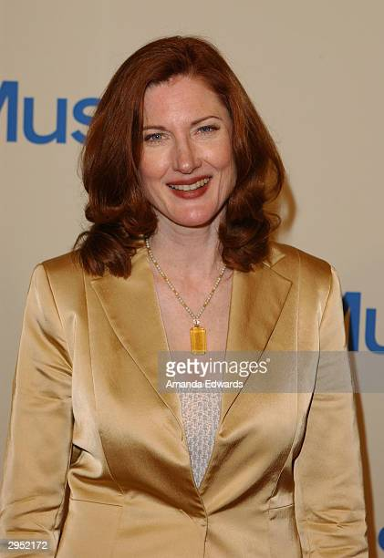 Actress Annette O'Toole arrives at the Sony Music Entertainment PostGrammy Party at Maple Drive Restaurant on February 8 2004 in Beverly Hills...