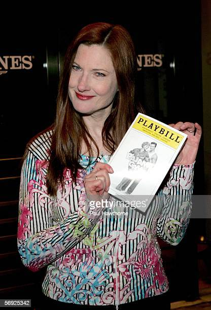 """Actress Annette O'Toole attends the opening night of Roundabout Theatre Company's revival of """"The Pajama Game"""" at American Airlines Theatre February..."""