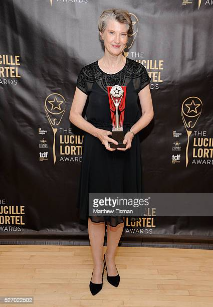 Actress Annette O'Toole attends the press room for the 31st Annual Lucille Lortel Awards at NYU Skirball Center on May 1 2016 in New York City