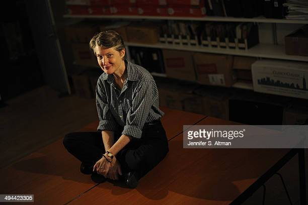 Actress Annette O'Toole is photographed for Boston Globe on July 12 2013 in New York City PUBLISHED IMAGE