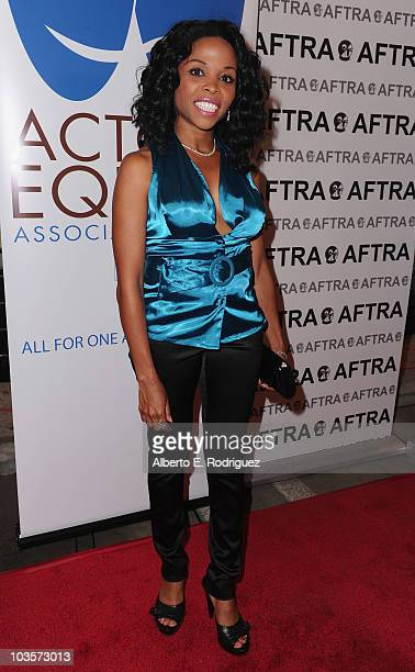 Actress Annette Young attends the 8th Annual Ivy Bethune TriUnion Diversity Awards on August 23 2010 in Burbank California