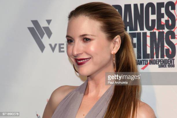 Actress Annie Cavalero attends the screening of An American In Texas at the 2018 Dances With Films Festival at TCL Chinese 6 Theatres on June 11 2018...