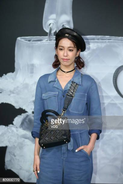 Actress Annie Chen attends the opening banquet of 'Lady Dior As Seen By' exhibition on July 21 2017 in Taipei Taiwan of China