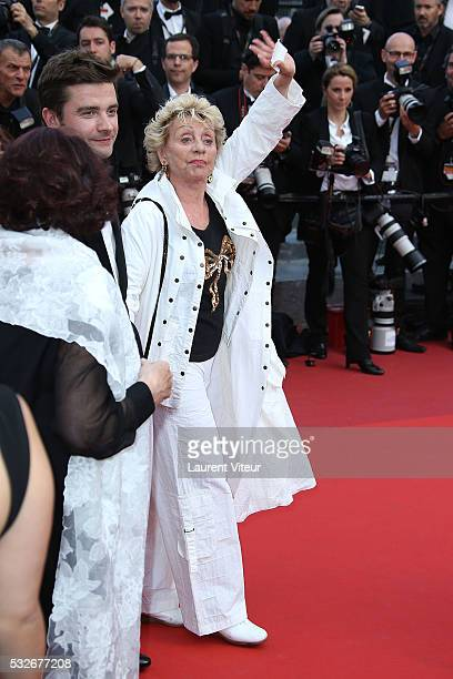 Actress Annie Cordy attends 'The Unknown Girl ' Premiere during the 69th annual Cannes Film Festival at the Palais des Festivals on May 18 2016 in...
