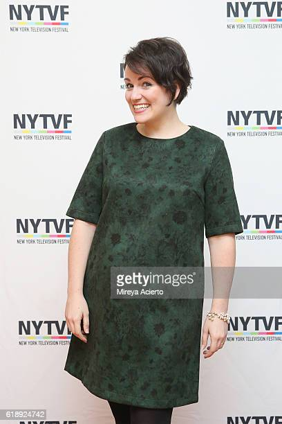 Actress Annie Donley attends PortaPilots during the 12th Annual New York Television Festival at Helen Mills Theater on October 28 2016 in New York...