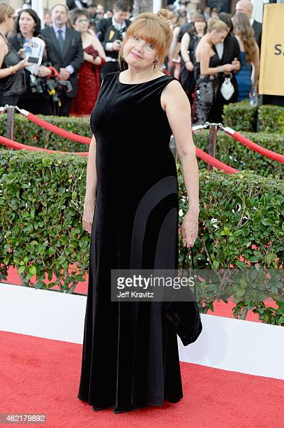 Actress Annie Golden attends the 21st Annual Screen Actors Guild Awards at The Shrine Auditorium on January 25 2015 in Los Angeles California