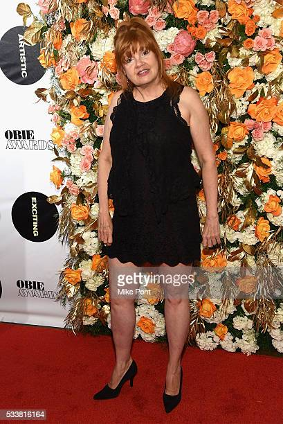Actress Annie Golden attends the 61st Annual Obie Awards at Webster Hall on May 23 2016 in New York City