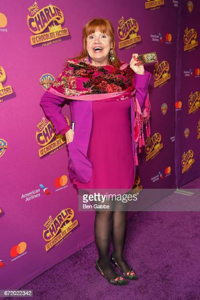 Actress Annie Golden attends the 'Charlie And The Chocolate Factory' Broadway Opening Night at LuntFontanne Theatre on April 23 2017 in New York City