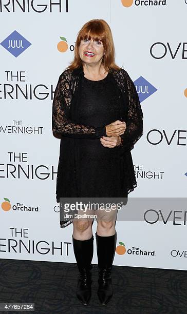 Actress Annie Golden attends 'The Overnight' New York premiere at Landmark's Sunshine Cinema on June 18 2015 in New York City
