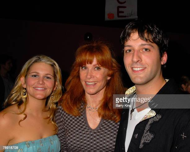 "Actress Annie Hendy, actress Stefanie Powers and actor Cyrus Alexander attend Venice Magazine's after party for ""The Catholic Girl's Guide to Losing..."