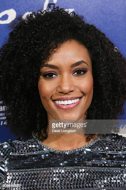 Actress Annie Ilonzeh arrives at the Premiere of Fox Searchlight Pictures' 'The Birth Of A Nation' at the ArcLight Cinemas Cinerama Dome on September...