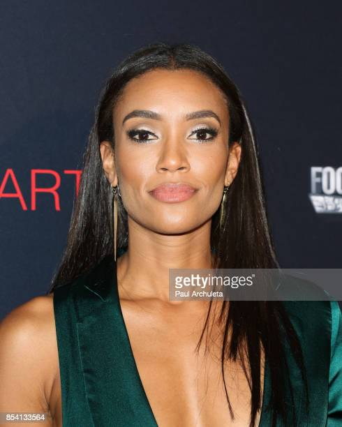 Actress Annie Ilonzeh attends the premiere of 'Til Death Do Us Part' at The Grove on September 25 2017 in Los Angeles California