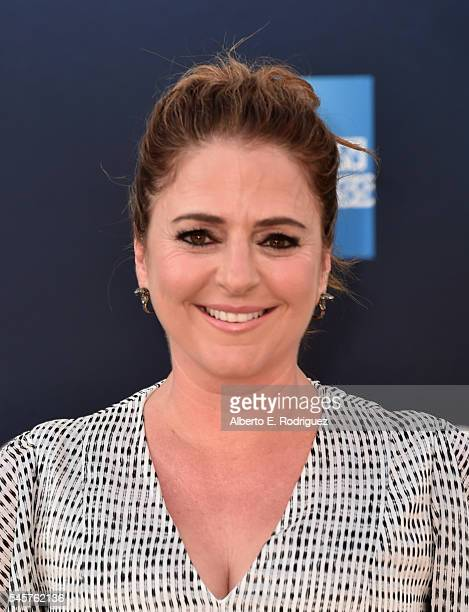 Actress Annie Mumolo arrives at the Premiere of Sony Pictures' 'Ghostbusters' at TCL Chinese Theatre on July 9 2016 in Hollywood California