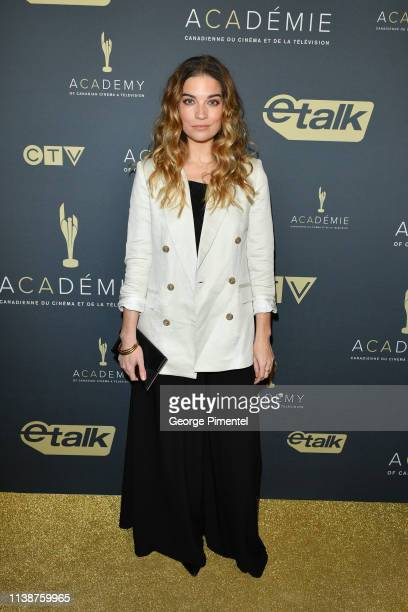 Actress Annie Murphy attends Canadian Screen Awards The CTV Gala Honouring Excellence In Fiction Programming at Heritage Court Exhibition Place on...