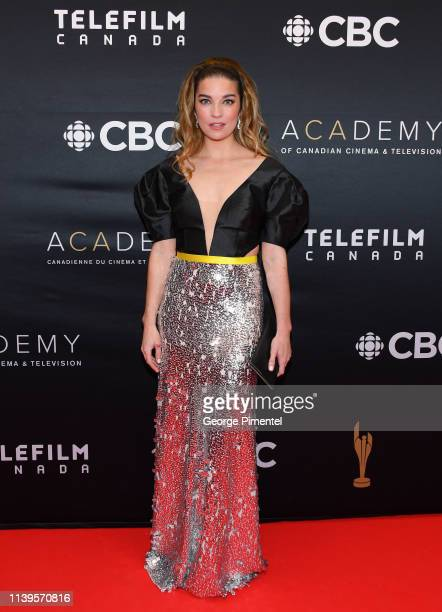 Actress Annie Murphy attends the 2019 Canadian Screen Awards Broadcast Gala at Sony Centre for the Performing Arts on March 31 2019 in Toronto Canada