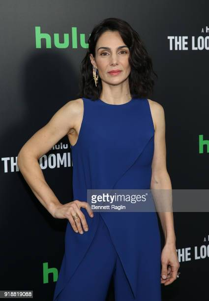 Actress Annie Parisse attends Hulu's 'The Looming Tower' series premiere at Paris Theatre on February 15 2018 in New York City