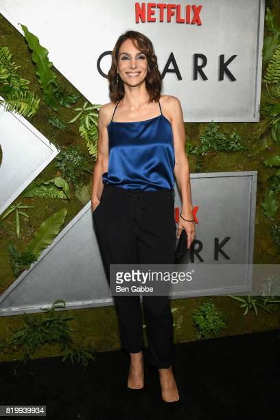 Actress Annie Parisse attends the Netflix Original 'Ozark' New York Screening at The Metrograph on July 20 2017 in New York City