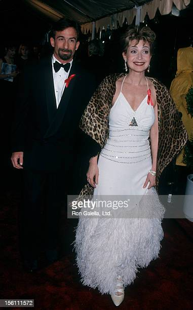 Actress Annie Potts and husband James Hayman attending 21st Annual People's Choice Awards on March 5 1995 at Universal Studios in Universal City...