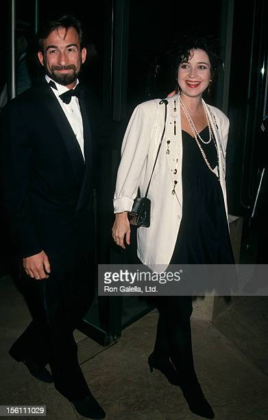 Actress Annie Potts and husband James Hayman attending 44th Annual Director's Guild of America Awards on March 14 1992 at the Beverly Hilton Hotel in...