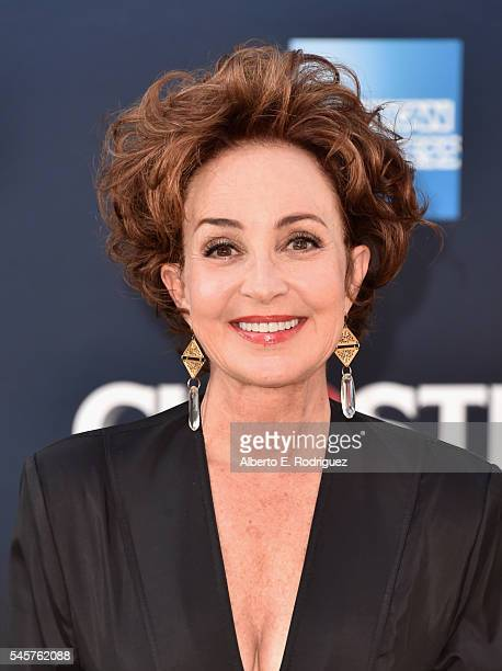 Actress Annie Potts arrives at the Premiere of Sony Pictures' 'Ghostbusters' at TCL Chinese Theatre on July 9 2016 in Hollywood California