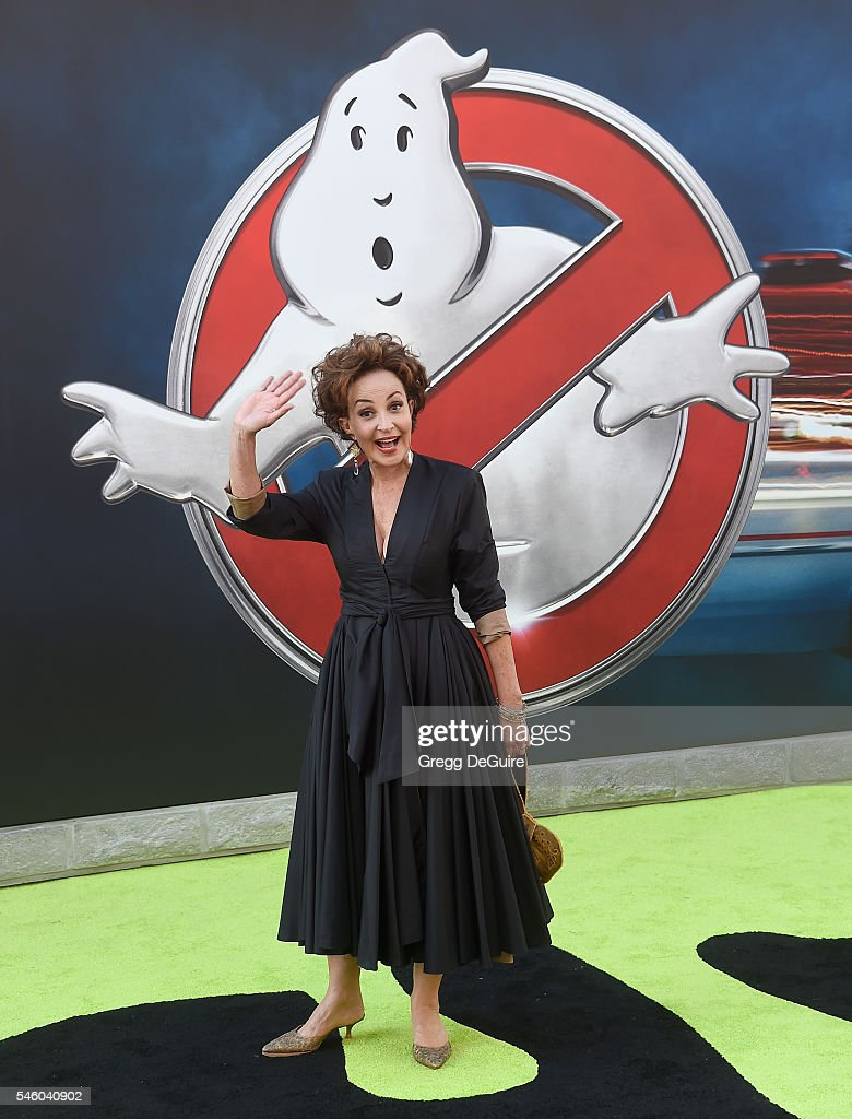 Actress Annie Potts arrives at the premiere of Sony Pictures' 'Ghostbusters' at TCL Chinese Theatre on July 9, 2016 in Hollywood, California.
