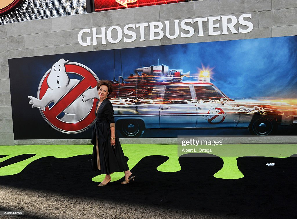 Actress Annie Potts arrives for the Premiere Of Sony Pictures' 'Ghostbusters' held at TCL Chinese Theatre on July 9, 2016 in Hollywood, California.