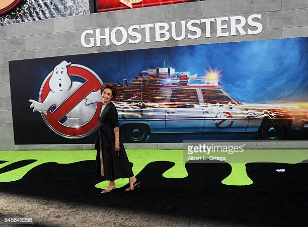 Actress Annie Potts arrives for the Premiere Of Sony Pictures' 'Ghostbusters' held at TCL Chinese Theatre on July 9 2016 in Hollywood California
