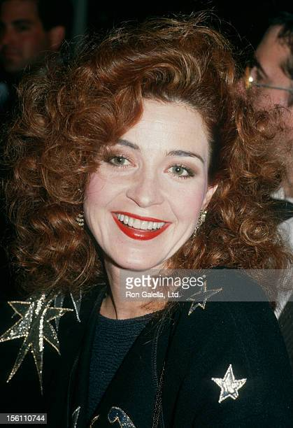 Actress Annie Potts attending 'Myasthenia Gravis Foundation Awards Honoring Bob Hope' on March 19 1988 at the Beverly Hilton Hotel in Beverly Hills...