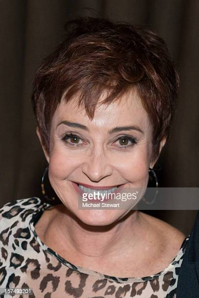 Actress Annie Potts attends the after party for the 25th anniversary celebrity stage reading of Steel Magnolias at Veranda on December 3 2012 in New...