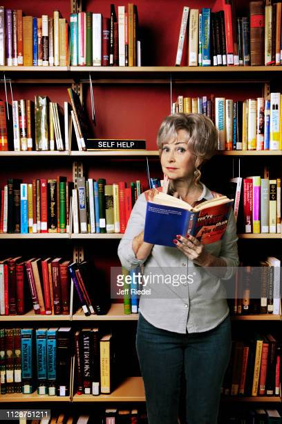 Actress Annie Potts is photographed for Entertainment Weekly Magazine on August 10 2018 in Burbank California PUBLISHED IMAGE