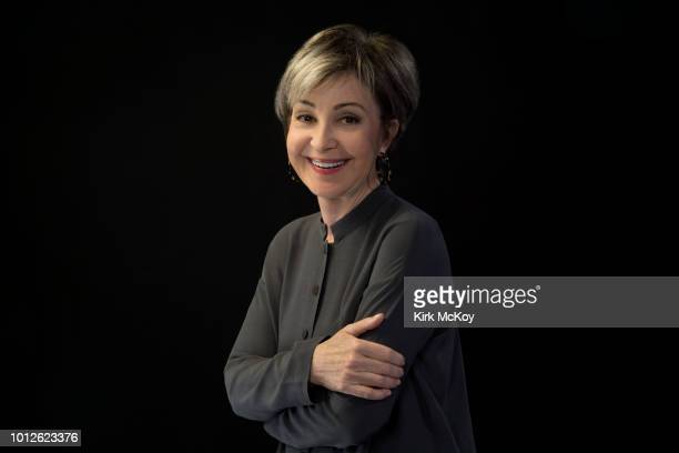 Actress Annie Potts is photographed for Los Angeles Times on April 11 2018 in Los Angeles California PUBLISHED IMAGE CREDIT MUST READ Kirk McKoy/Los...