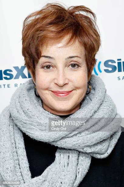 Actress Annie Potts visits the SiriusXM Studios on March 27 2014 in New York City