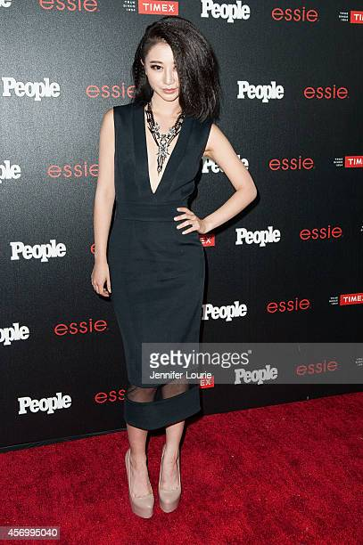 Actress Annie Q arrives at the People's 'One To Watch' Event at The Line on October 9 2014 in Los Angeles California