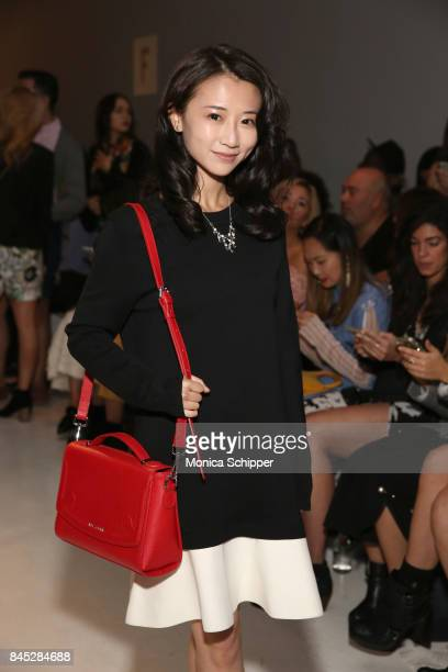 Actress Annie Q attends Dan Liu fashion show during New York Fashion Week The Shows at Gallery 3 Skylight Clarkson Sq on September 10 2017 in New...