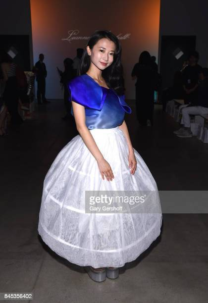 Actress Annie Q attends the Leanne Marshall fashion show during New York Fashion Week at Gallery 2 Skylight Clarkson Sq on September 10 2017 in New...