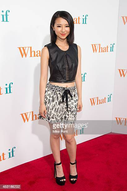 Actress Annie Q attends the 'What If' New York Premiere at Regal EWalk 13 on August 4 2014 in New York City