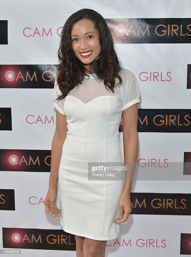 Actress Annie Ruby attends the screening party for the new original web series, 'CAM GIRLS' at United Talent Agency on May 31, 2015 in Beverly Hills, California.