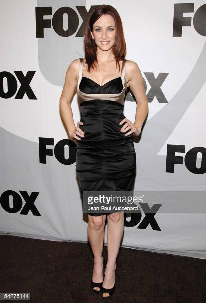 Actress Annie Wersching arrives at the Fox winter AllStar party held at My House on January 13 2009 in Los Angeles California