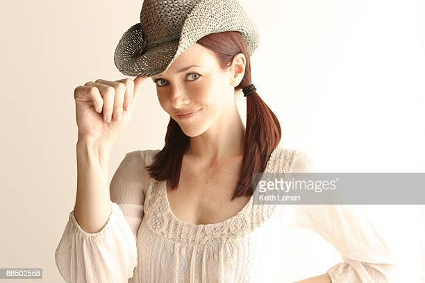 **EXCLUSIVE** Actress Annie Wersching poses for a portrait on April 10 2009 in Los Angeles California