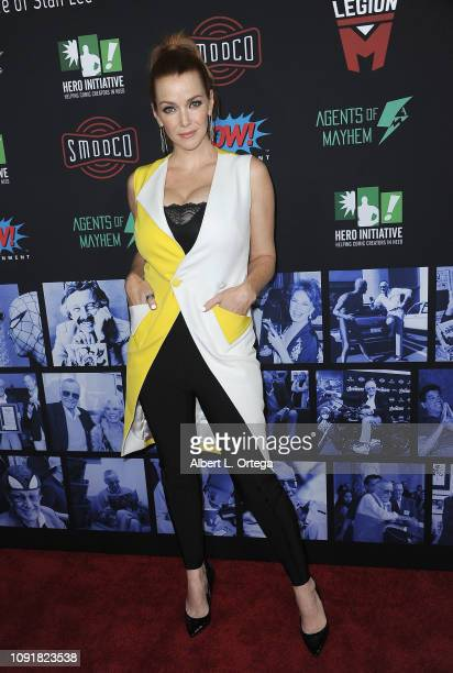 Actress Annie Wershing arrives for Excelsior A Celebration Of The Amazing Fantastic Incredible And Uncanny Life Of Stan Lee held at TCL Chinese...