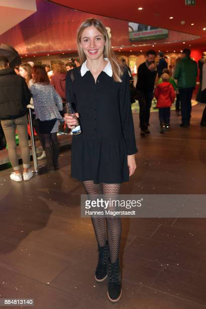 Actress Annika Greta Blendl during the 'Burg Schreckenstein 2' Premiere at Mathaeser Filmpalast on December 3 2017 in Munich Germany