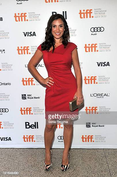 Actress Annika Marks attends The Sessions Premiere during the 2012 Toronto International Film Festival at The Elgin Theatre on September 9 2012 in...