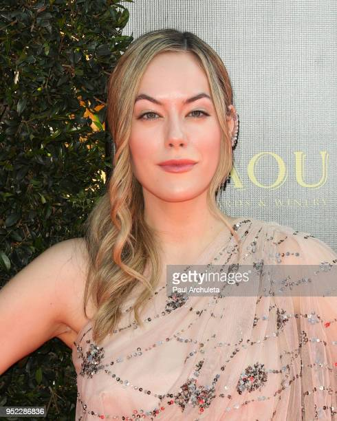 Actress Annika Noelle attends the 45th Annual Daytime Creative Arts Emmy Awards at the Pasadena Civic Auditorium on April 27 2018 in Pasadena...