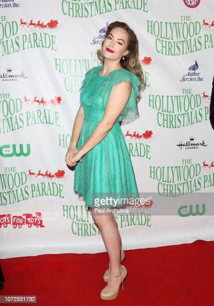 Actress Annika Noelle attends the 87th Annual Hollywood Christmas Parade on November 25 2018 in Hollywood California
