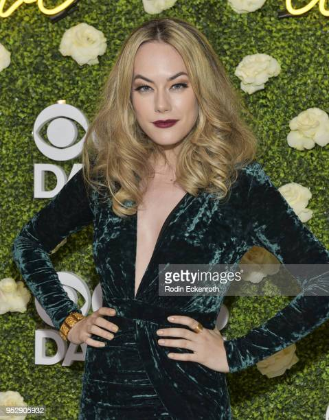 Actress Annika Noelle attends the CBS Daytime Emmy After Party at Pasadena Convention Center on April 29 2018 in Pasadena California