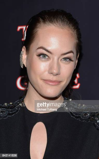 Actress Annika Noelle attends the premiere of Imani Motion Pictures' 'True To The Game' at Directors Guild Of America on September 5 2017 in Los...