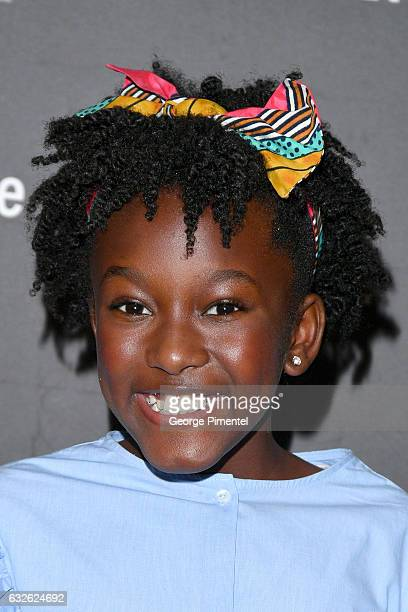 Actress Ann'Jewel Lee Dixon attends The Last Word Premiere at Eccles Center Theatre on January 24 2017 in Park City Utah