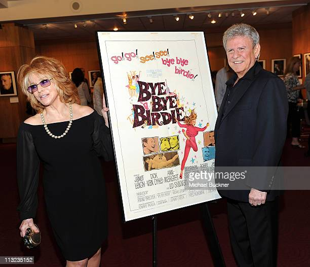 Actress AnnMargaret and actor Bobby Rydell attend the Academy of Motion Pictures Arts and Sciences screening of the newly restored Bye Bye Birdie at...