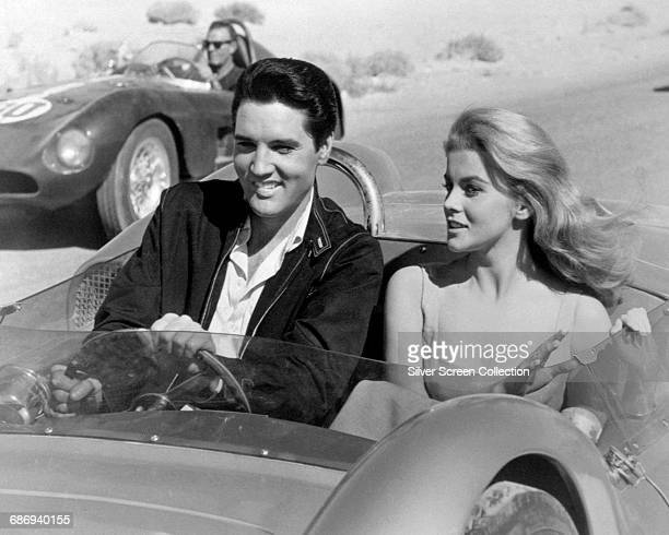 Actress AnnMargret and actor and singer Elvis Presley in the film 'Viva Las Vegas' 1964